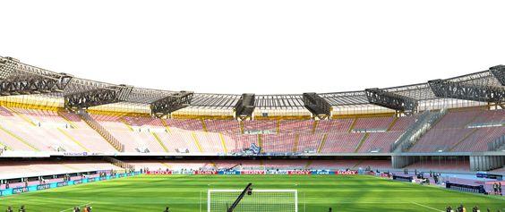 @Napoli Lo stadio San Paolo di Napoli, già del Sole, sorge nel quartiere di Fuorigrotta ed è il principale impianto polisportivo della città, dotato di palestre polifunzionali e di arti marziali, e di un campo da pallacanestro. È conosciuto soprattutto dal punto di vista calcistico, essendo sede delle partite interne della SSC Napoli. #9ine