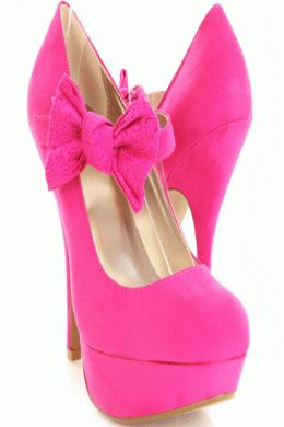 Shoes on Pinterest | Hot Pink Heels, Ohio State Buckeyes and Pink ...
