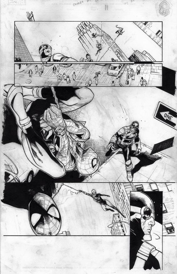 Amazing Spider-Man #9 interior art by Olivier Coipel *