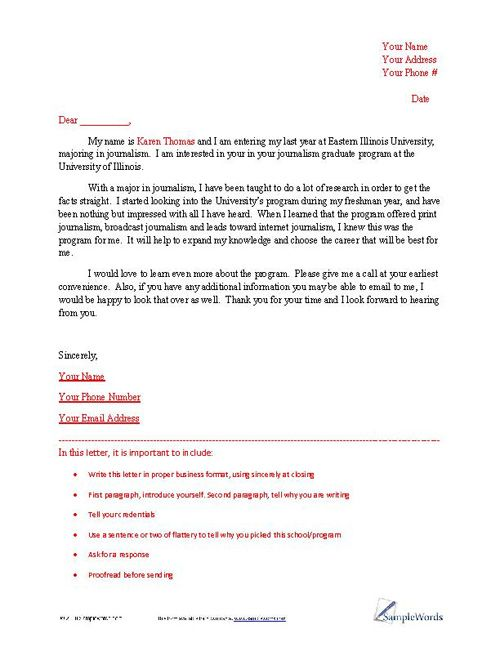 Letter of Intent Sample – Business Letter of Intent