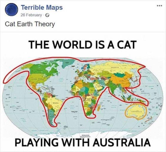 Cat Earth Theory