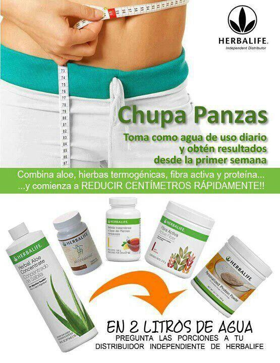 Herbalife Steps To Success: Chupa Panza
