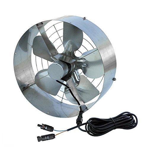 Fisters Solar Power Attic Gable Fan 100 Watts Monocrystalline Solar Panel Module 65 Watts Ventilator Fan Ineedthebestoffer Com Gable Fans Solar Panels Monocrystalline Solar Panels