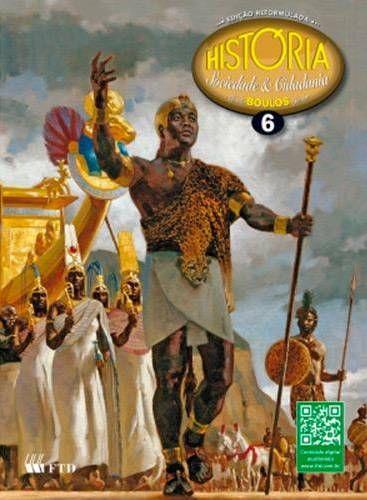 Livro História Sociedade e Cidadania Edição Reformulada 6º Ano - ISBN 9788532282798