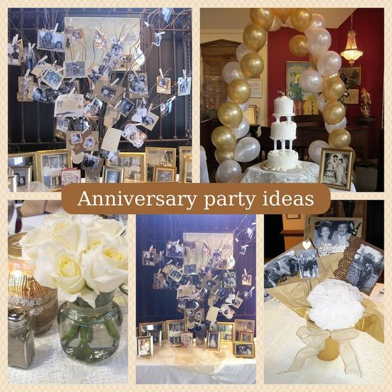 Ideas To Celebrate Wedding Anniversary: Image Result For Pinterest Party Ideas, 60 Th Anniversary