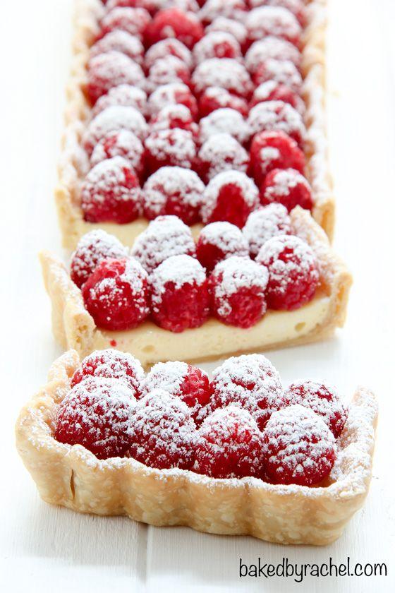 Cheesecake Tart with Fresh Raspberries | Recipe | Remember ...