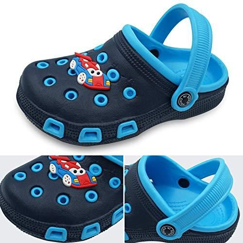 Namektch Toddler Little Kids Clogs Slippers Sandals Non-Slip Girls Boys Slide Lightweight Garden Slip-on Shoes Beach Pool Shower Slippers
