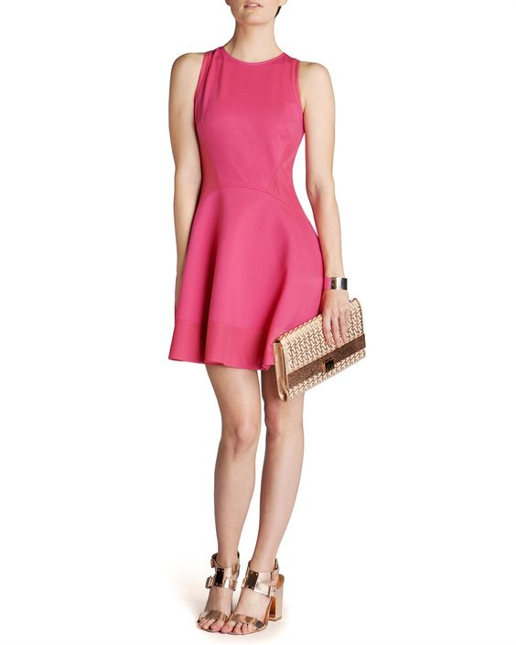 Contrast side dress- develop with themed colours