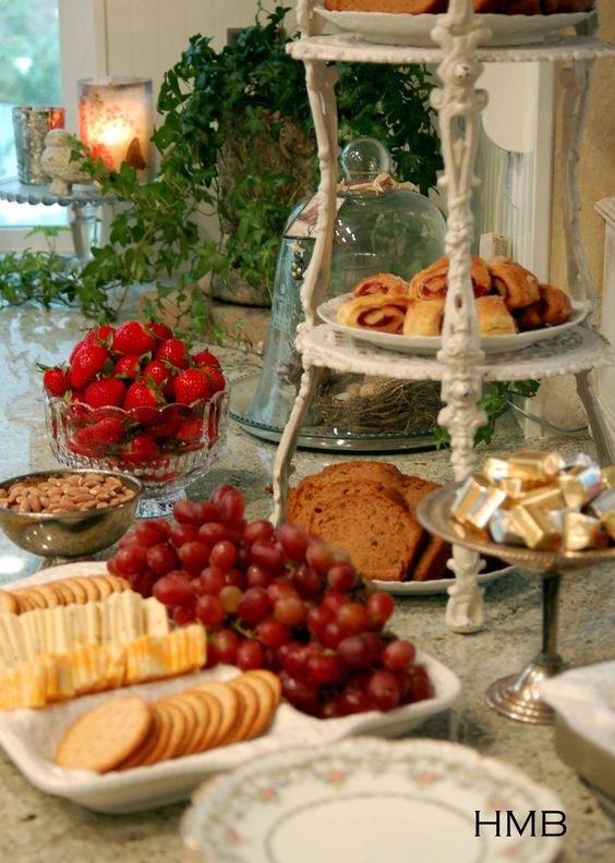 The cheese trays and christmas on pinterest for Table 6 brunch