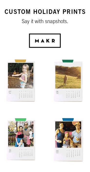 Make the season bright with personalized cards, calendars, and more from Makr. Makers gonna make.   http://makr.co/collections/holiday-kits/?utm_source=Pinterest&utm_medium=1.80P