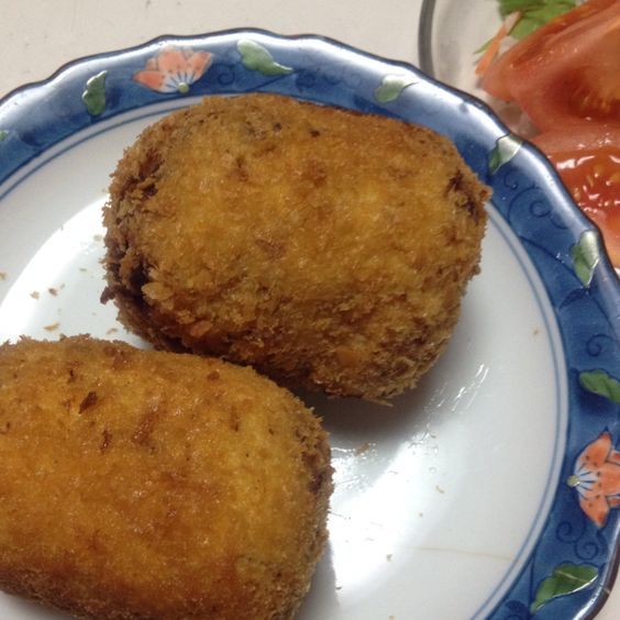 Homemade croquette