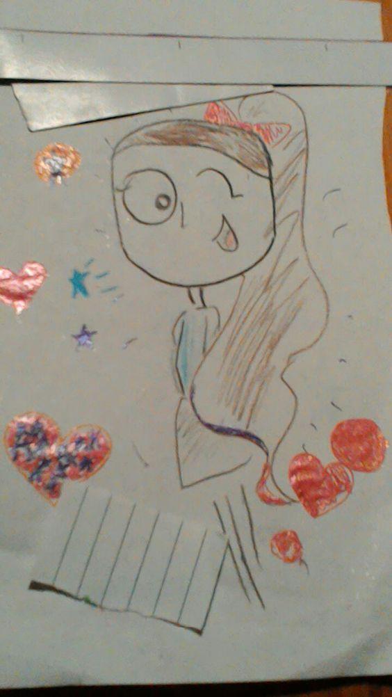 Manuela muchas gracias por el dibujo me encantó sos genial dibujando!! #DibujaVive #NoTemas