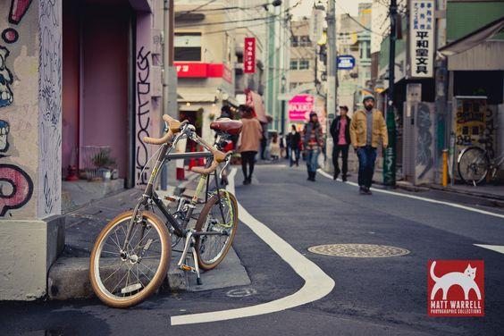 Harajuku backstreet. http://www.mattwarrell.com