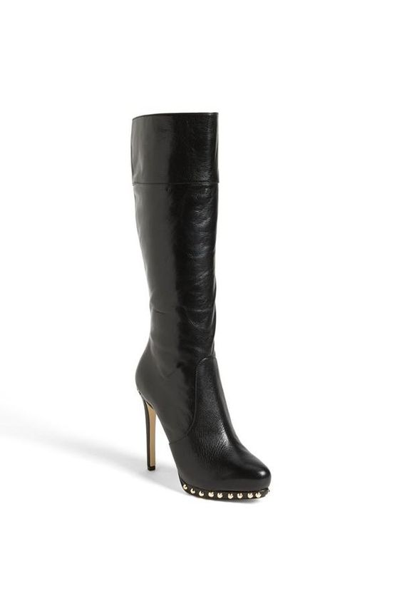 Sexy! MICHAEL Michael Kors Leather Studded Boot