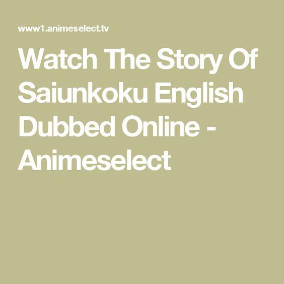Watch The Story Of Saiunkoku English Dubbed Online - Animeselect