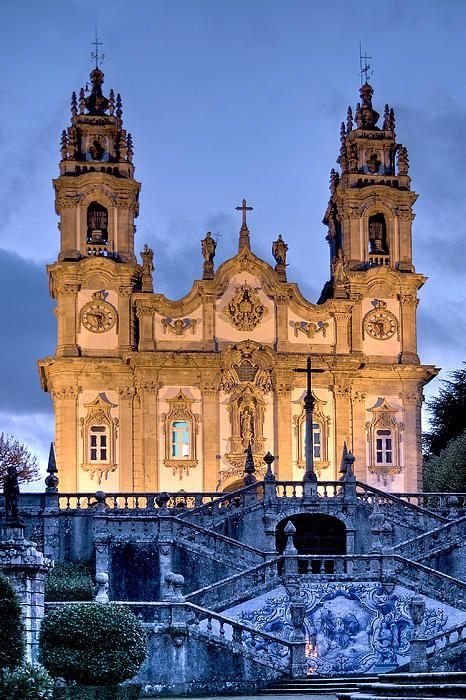Igreja Remédios, Lamego, Portugal