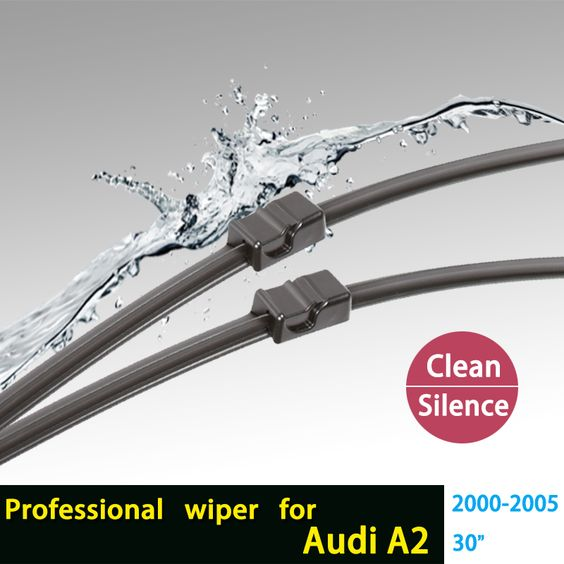 Windscreen Wiper Blades For Audi A2 2000 2005 30 Natural Rubber Bracketless Car Accessories Hy 006b In Wind Windscreen Wipers Wiper Blades Alfa Romeo 159