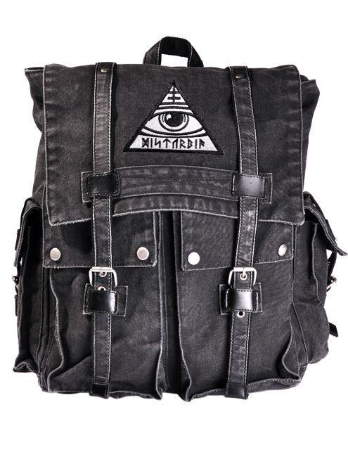 Disturbia Clothing - All-Seeing Backpack #disturbiaclothing