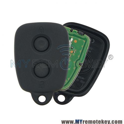 Oem Remote Fob Car Key Control 2 Button 434mhz For Toyota Avanza Toyota Car Keys Toyota Cars