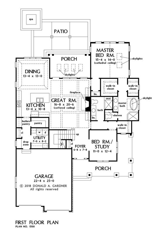 House Plan The Agatha By Donald A Gardner Architects Basement Stairs Diy Stairs Mayfair House