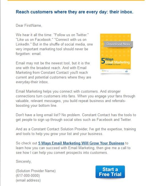 Start a Free Trial template Solution Provider Email Templates - articles of incorporation template