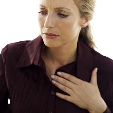 Could my swallowing difficulties be related to Jackhammer Esophagus?: Woman having esophageal spasms.
