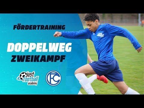 Fussballtraining Doppelweg Zweikampf Taktik Youtube
