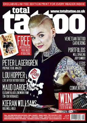 Tattoo & Ink: Total Tattoo – September 2016