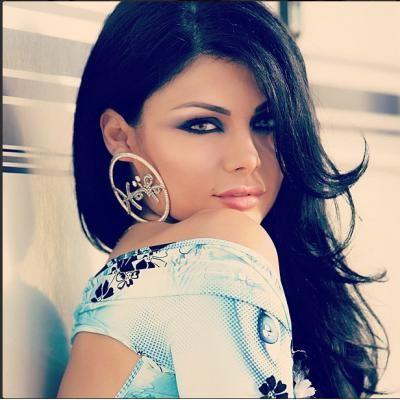 Haifa Wehbe Smokey Eye Makeup