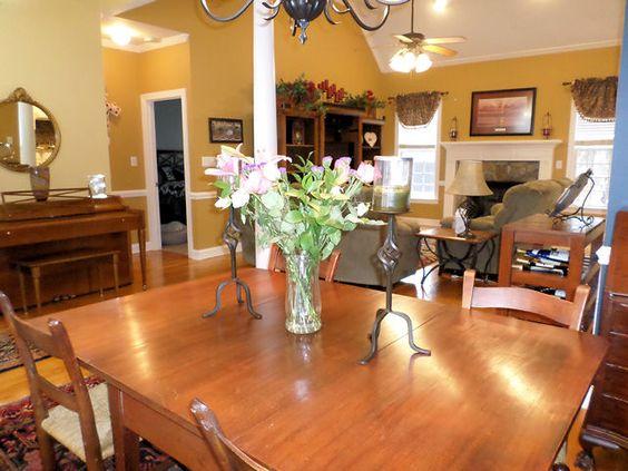 Formal Dining Room, Oak Hardwoods. 404 Morgan Trace Ln, Goldsboro, NC  Presented