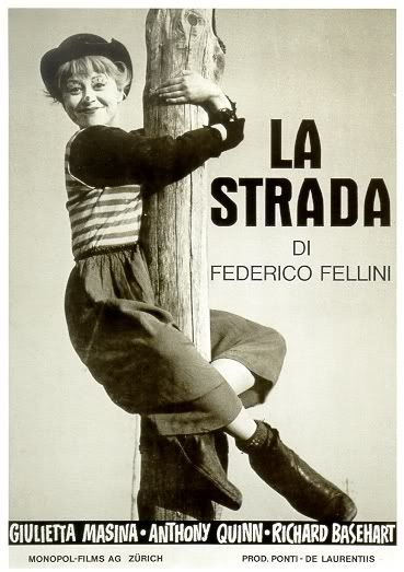 """Screening of """"La Strada"""" by Federico Fellini Tickets, Chicago. Another favorite when I was growing up."""