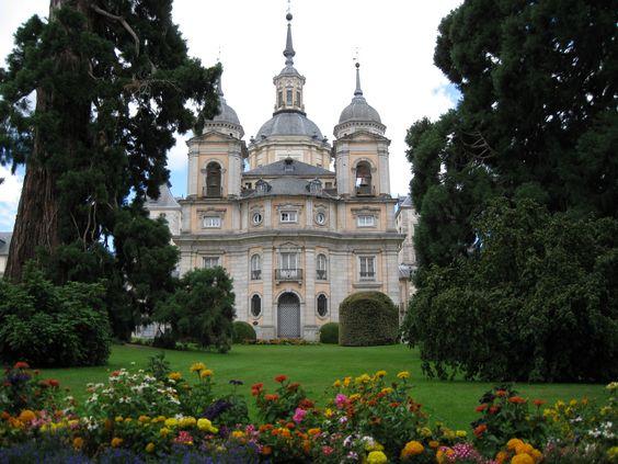 Jardines de San Ildefonso, Segovia.  Madrid-españa