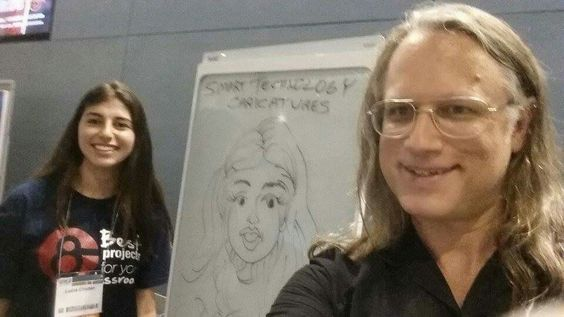 See all the #caricatures I drew Sunday w/a Smart Technologies dry erase board. https://facebook.com/pages/Caricature-Artist/65878249487