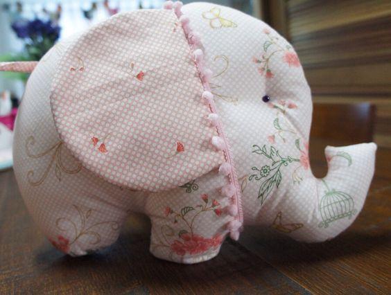 Almofada Bebê Elefante - Dom Três