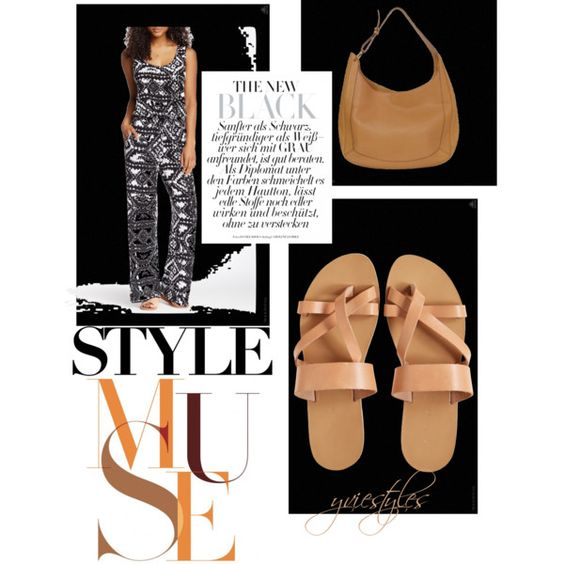 Tribal Jumpsuit by yviestyle on Polyvore featuring polyvore fashion style Seven7 Jeans Loewe