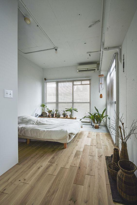 塩系インテリア 寝室 コーディネート例 サンプル