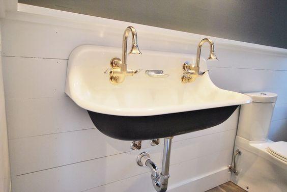 Wall Mount Hotel Bathrooms And Trough Sink Bathroom On Pinterest