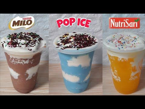 Es Awan Viral Ide Jualan Minuman Kekinian Modal Kecil Dari Pop Ice Milo Nutrisari Youtube Makanan Enak Ide Makanan Makanan Dan Minuman