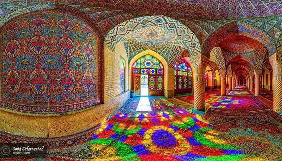 Nasir al-Mulk Mosque in Shiraz, Iran | Photo by Omar Jafarnezhad.