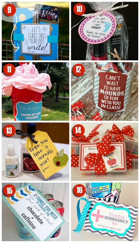 101 easy amp creative teacher gift ideas teacher gifts teaching and