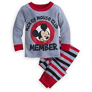 Disney Mickey Mouse Club PJ PALS for Baby | Disney StoreMickey Mouse Club PJ PALS for Baby - Your littlest Mouseketeer will always strike up the band while wearing our merry <i>Mickey Mouse Club</i> PJ PALS. Mickey offers 100% cotton comfort in these snuggly pajamas for members only!