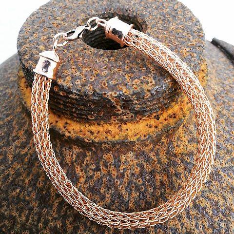 Viking Knit - Armband Kupfer