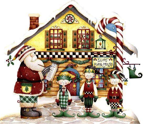 Figuras de Decoupage Cutes: Natal Cute