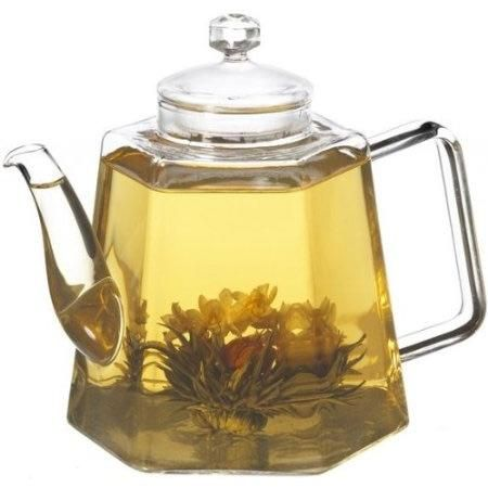Stove Top Glass Water Boiler Kettle Teapot With Tea Infuser Glass Teapot Glass Tea Kettle