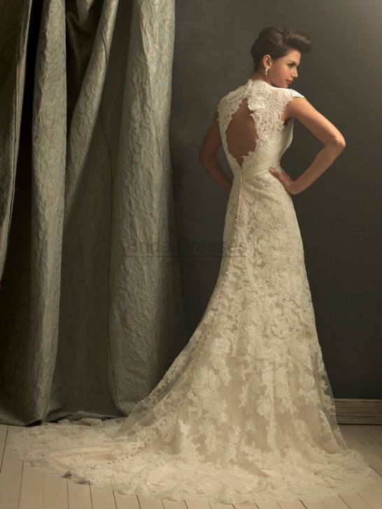Lace wedding Dress!!!!!!! Allure C155: Wedding Idea, Weddingdress, Vintage Wedding, Wedding Gown, Lace Wedding, Cap Sleeve, Allure Bridal, Wedding Presents