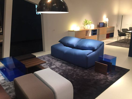22/01/2016 - During IMM Cologne and M&O Ligne Roset presents Plumy, a sofa collection born from the collaboration between Michel Roset and th