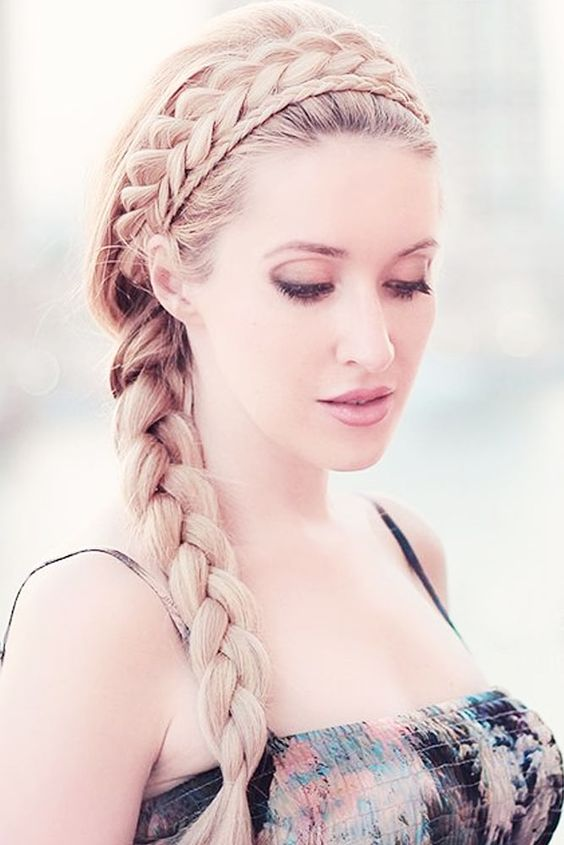 Easy Braid Crown Looks for Your Special Time ★ See more: http://lovehairstyles.com/easy-braid-crown-looks/