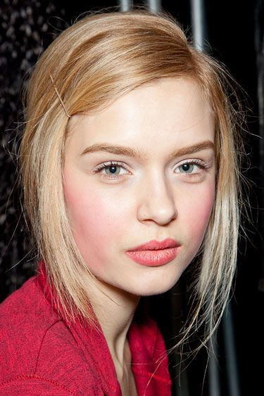 Michael Kors - Fresh & Natural Faces fall 2012 - i like this version best.