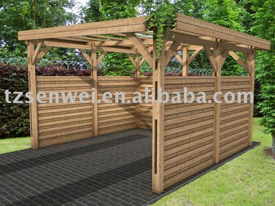 Carport garage pinterest products and ideas for Trellis carport