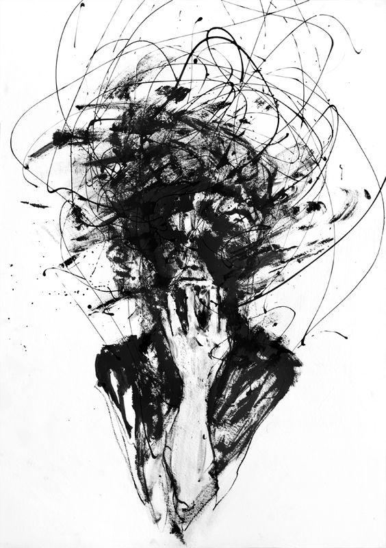 Fever - Silvia Pelissero. She has some nice drawings: http://agnes-cecile.deviantart.com/gallery/23421020